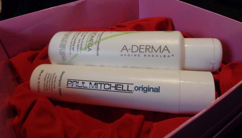syaros-notes-empries-box-editia-a-doua-adrema-exomega-emollient-foaming-gel-paul-mitchell-shampoo-one-original